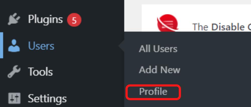 profile-reset-pass-admin-wordpress